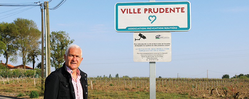 Label ville prudente : un cœur pour Saint-Julien